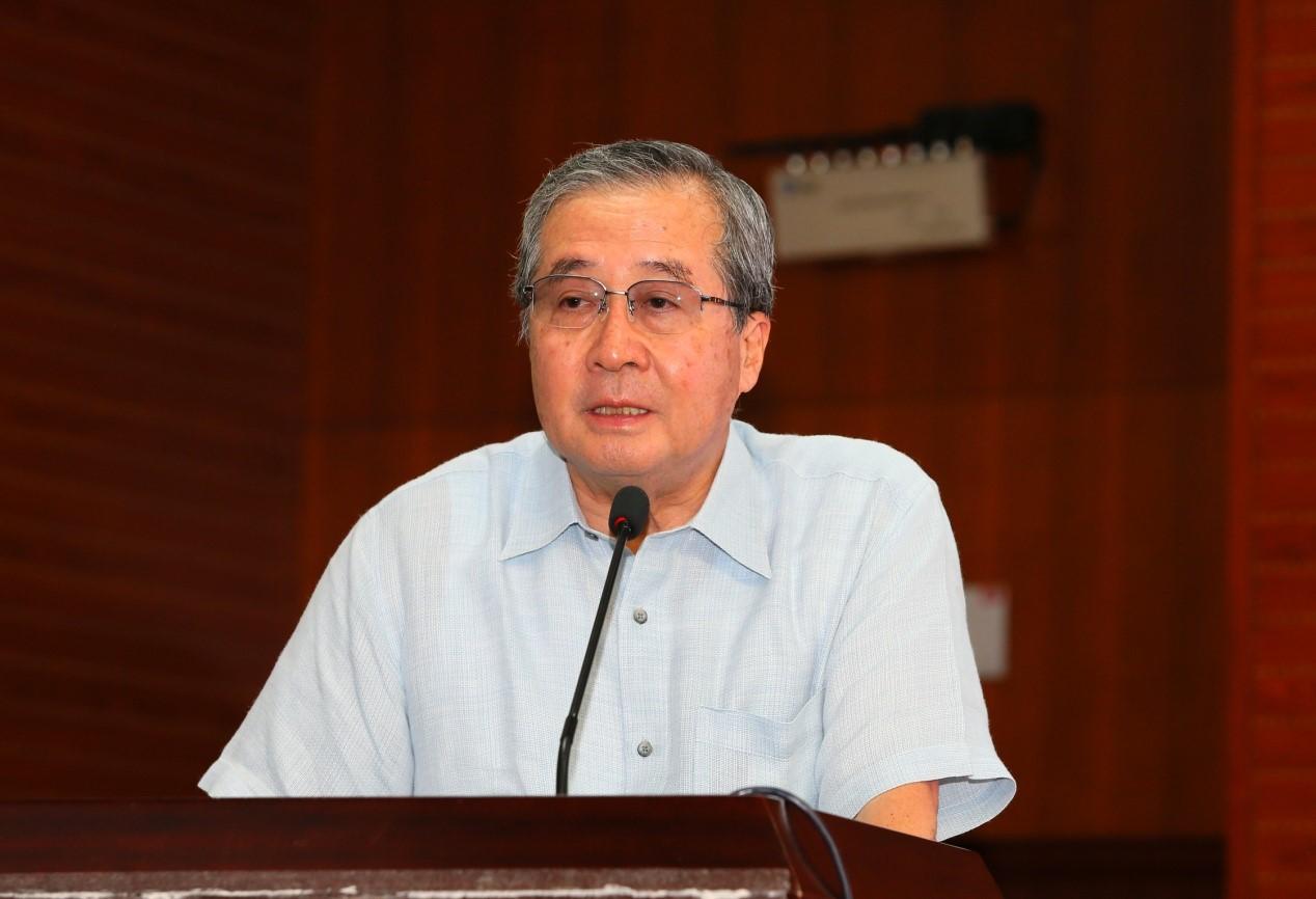 日本财团理事长尾形武寿先生在会上致辞
